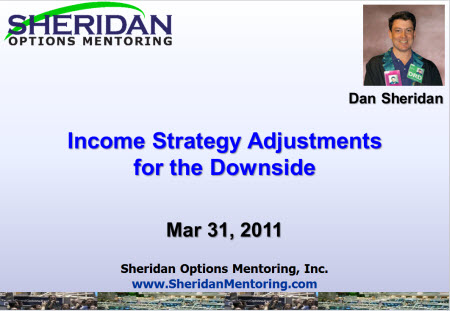 CBOE Webcast - Income Strategy Adjustments for the Downside