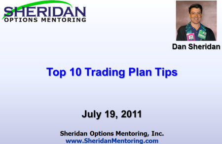 Top 10 Trading Plan Tips