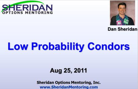 Low Probability Iron Condor